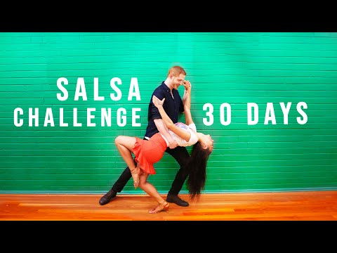 Learn Salsa in 1 Month || Max's Monthly Challenge