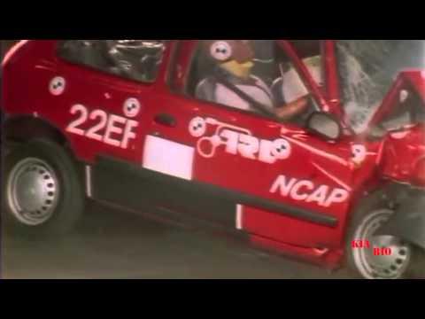 Худшие краш тесты EuroNCap 2 bad crash test 1997