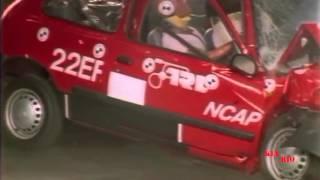 Худшие краш тесты EuroNCap - 2 / bad crash test 1997