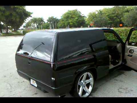 Craigslist Chevy Tahoe black hoe system.3gp - YouTube