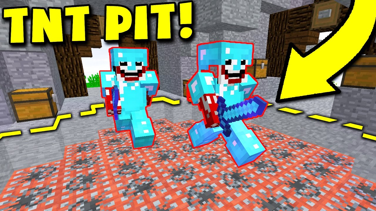 how to make a pit trap in minecraft