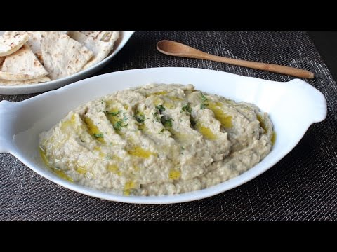 Baba Ghanoush - How to Make Roasted Eggplant Dip & Spread