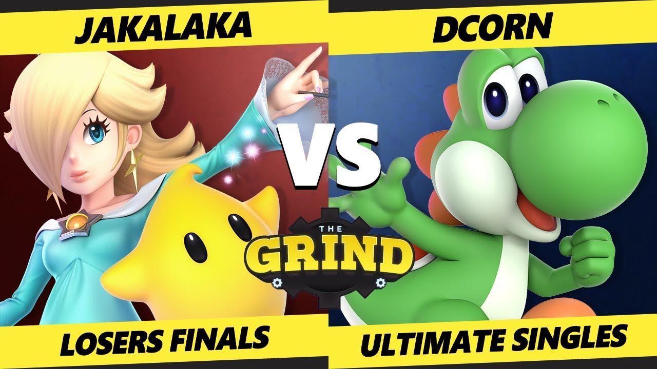 The Grind 131 Online Losers Finals - DCorn (Yoshi) Vs. Jakalaka (Rosalina) Smash Ultimate - SSBU