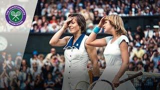 Martina Navratilova V Chris Evert: Wimbledon Final 1978  Extended Highlights
