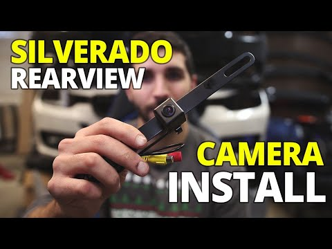 How To Install A Backup Camera On A Silverado With The ATOTO A6 Pro