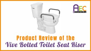 Product Review Vive Toilet Seat Riser