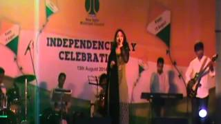 BAAHO ME CHALE AAO LIVE BY SAYRA WITH SARGAM STARS