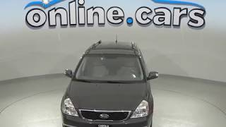 A99620LT Used 2014 Kia Sedona Mini Van Gray Test Drive, Review, For Sale