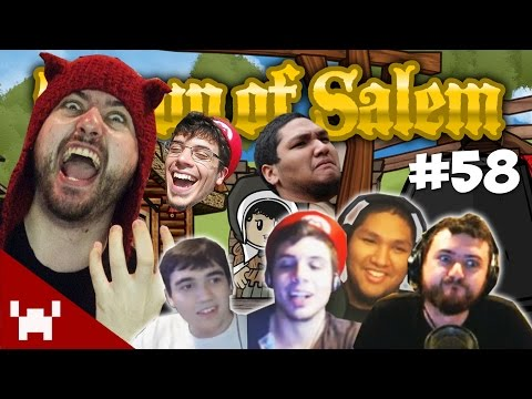 THE EXECUTIONER'S CHOICE! (Town of Salem QUAD FACECAM w/ The Derp Crew Ep. 58)