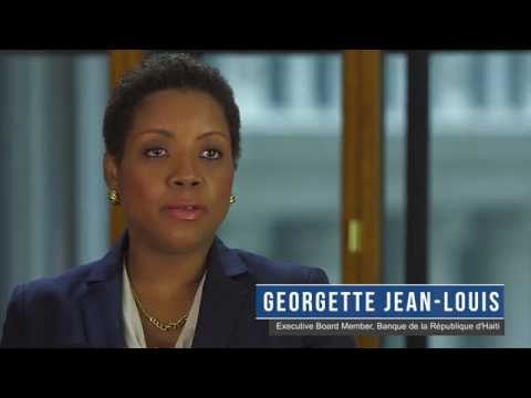 Visa's interview with Haiti's Georgette Jean-Louis at Financial Literacy Summit
