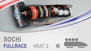 Sochi | 4-Man Bobsleigh Heat 2 World Cup Tour 2014/2015 | FIBT Official