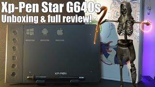 Best budget pen tablet! Xp pen Star G640s full review!