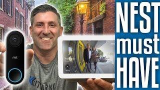 Connect NEST HELLO DOORBELL to GOOGLE HOME HUB | 2019 👍