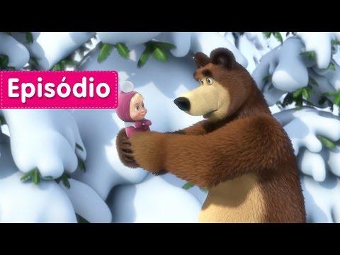Masha e o Urso - Pegadas de Animais  Desconhecidos (Episódio 4) Desenho animado novo!