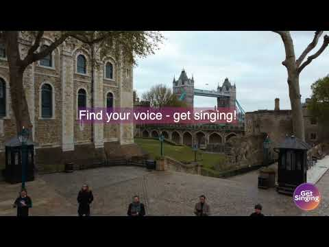 Project Get Singing shine a light for singers