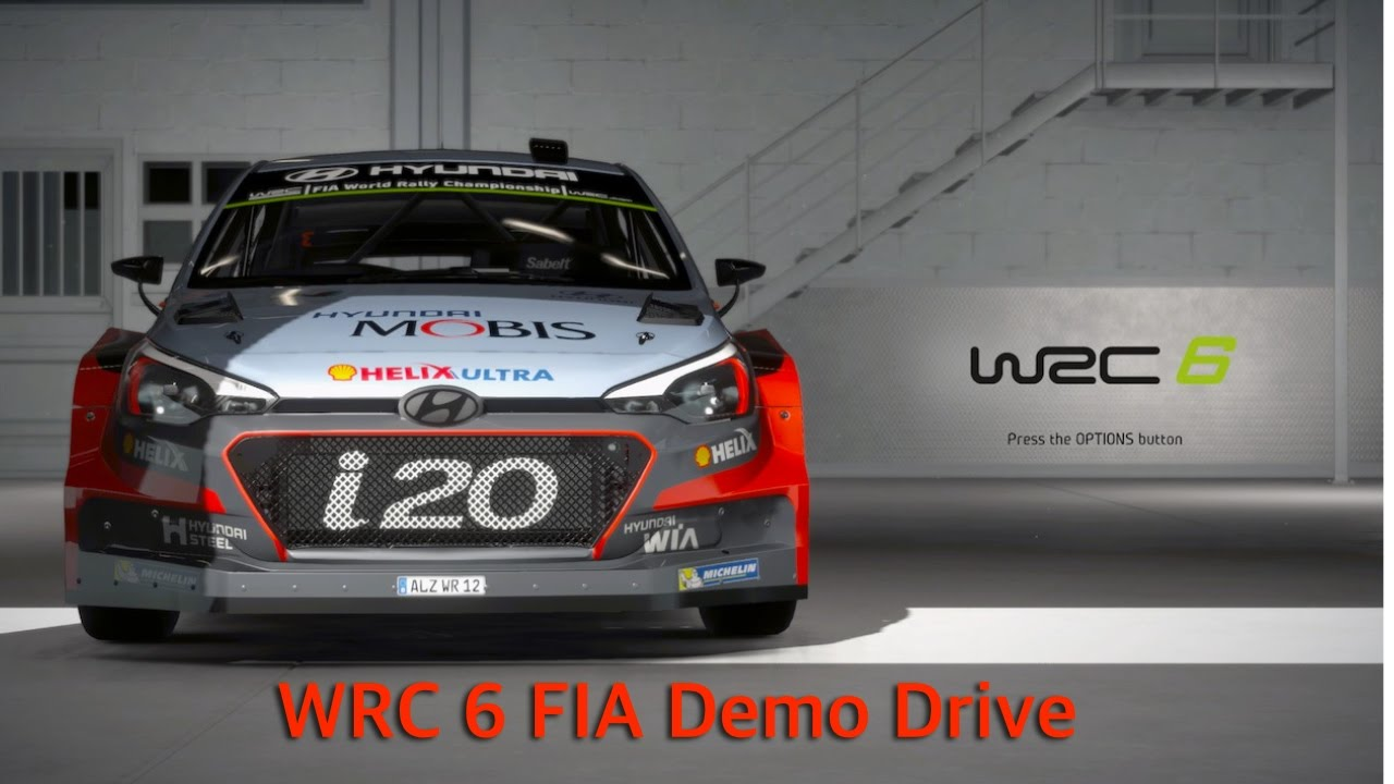 wrc 6 fia rally ps4 demo drive youtube. Black Bedroom Furniture Sets. Home Design Ideas