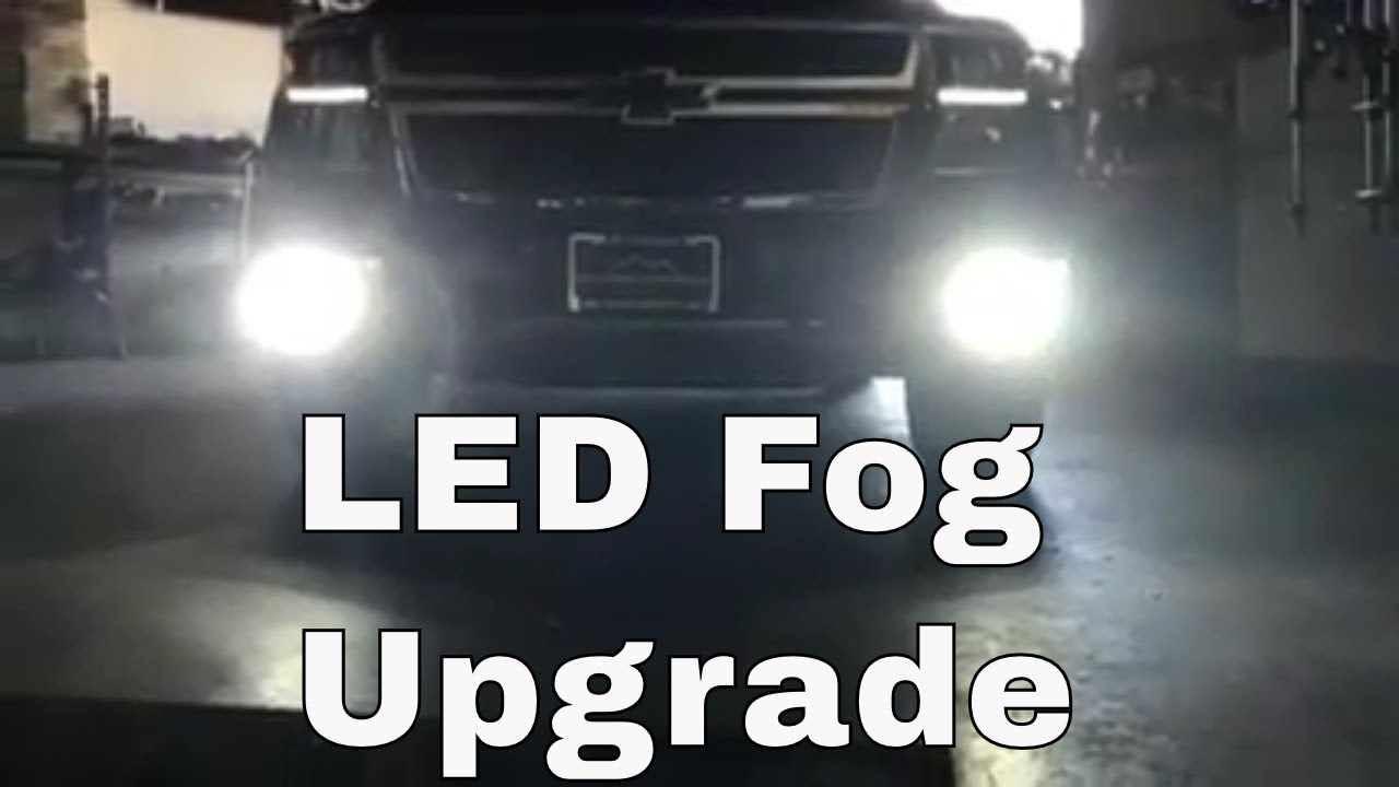 medium resolution of diy 2016 2018 chevy tahoe led fog light install