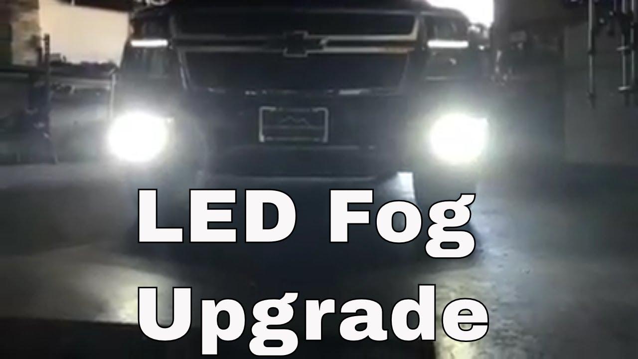diy 2016 2018 chevy tahoe led fog light install [ 1280 x 720 Pixel ]
