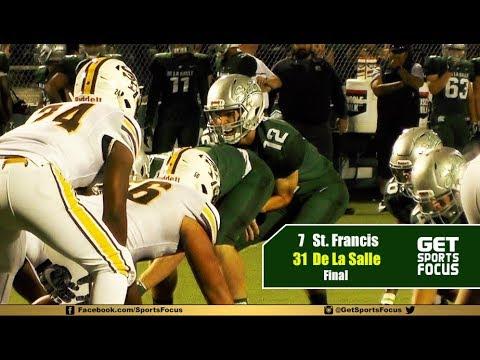FULL GAME RECAP - De La Salle Spartans vs Saint Francis Lancers