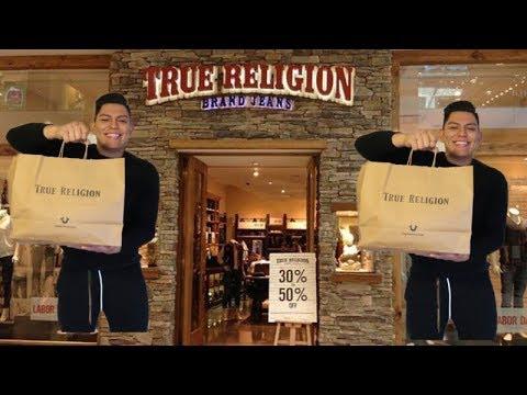 NO CREERAN LO QUE COMPRE EN TRUE RELIGION *Outlet*