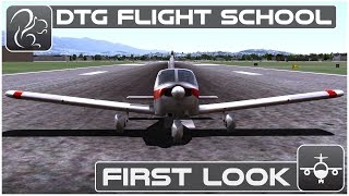dovetail Games Flight School gameplay PC HD 1080p/60fps
