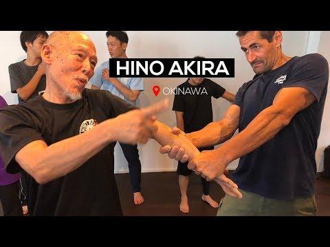 Hino Akira Sensei - Okinawa