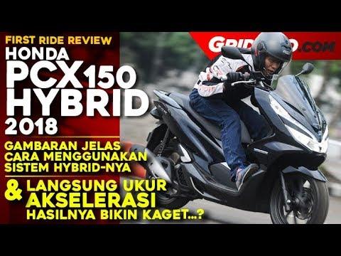 Honda PCX Hybrid 2018 L First Test Ride Review L GridOto