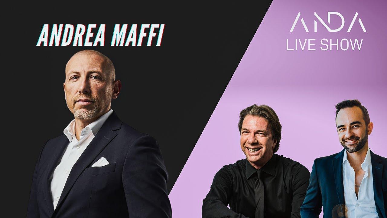 ANDA Live Show con ospite Andrea Maffi