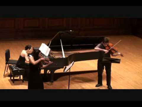 B Rossette (violin, viola, piano)