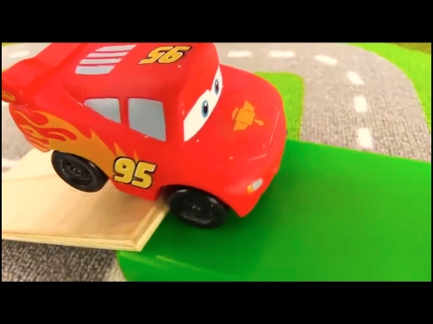Thumbnail: Lightning McQUEEN - TAYO Bus Traffic SCHOOL - Toy Cars Videos for kids. Videos for kids cartoons