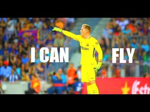 Ter Stegen ● I CAN FLY ● Best Saves 17/2018