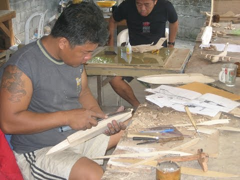 PlaneArts Wood Model Production Process