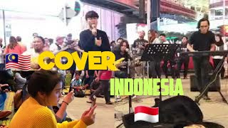 KEMARIN - Jiran Artis Feat The Kodox's🇲🇾 Buskers Legen suara padu. |COVER Seventeen Band🇲🇨