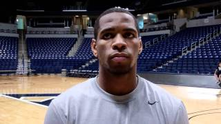 Tu Holloway on Xavier's team and Saturday's exhibition game