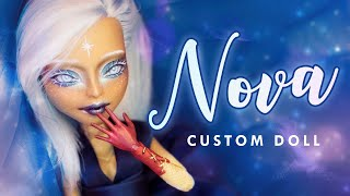 Nova the First Star • Christmas Collab • Arteza Review • Q&A • Custom Doll Tutorial
