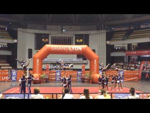 OPEN LYON 2016 - Wolves Toulouse Cheerleading