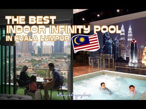 Indoor Rooftop Infinity Pool Terbaik Di Kuala Lumpur?   Review Setia Sky Residence   Malaysia #12