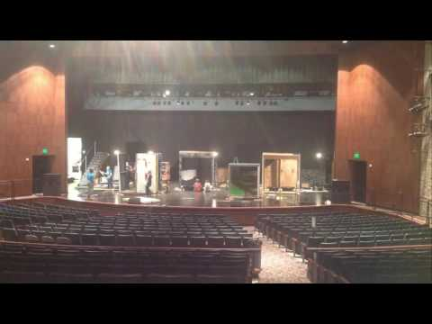 PPHS Addams Family The Musical set build day 2 time lapse