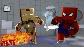 Minecraft: ACAMPAMENTO DE HERÓIS - O FANTASMA DO ACAMPAMENTO!