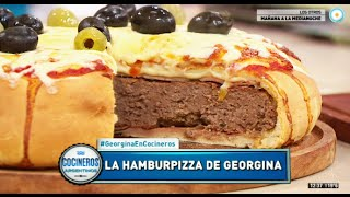 Hamburpizza con Georgina Barbarossa