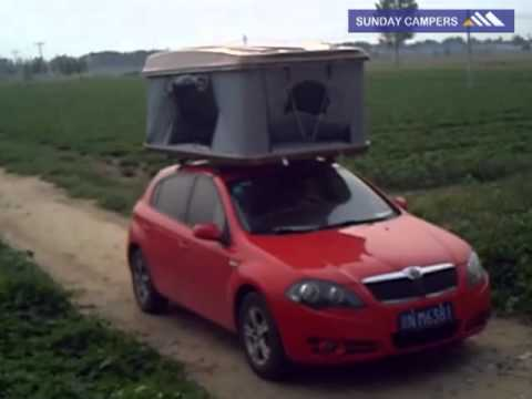 Hard Top Roof Tent Tallsnail & Hard Top Roof Tent Tallsnail - YouTube