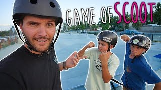 RAYMOND WARNER VS SCOOTER KIDS GAME OF SCOOT! thumbnail