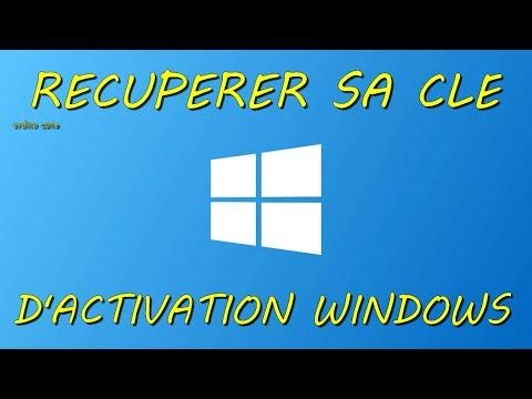 Comment récupérer sa clé d'activation Windows ?