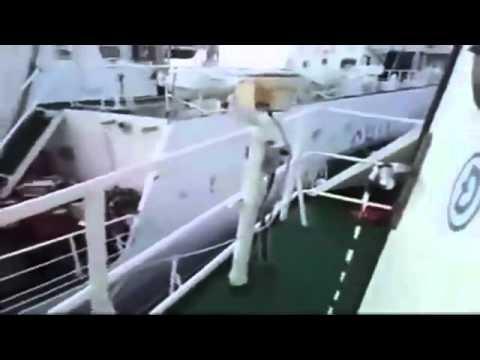 A Ship of Vietnam Marine Police chasing a China Marine Surveillance Ship on VN's Sea.mp4