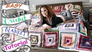 Easy crochet King Size Blanket