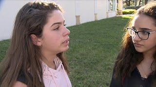 Students describe Florida school shooting