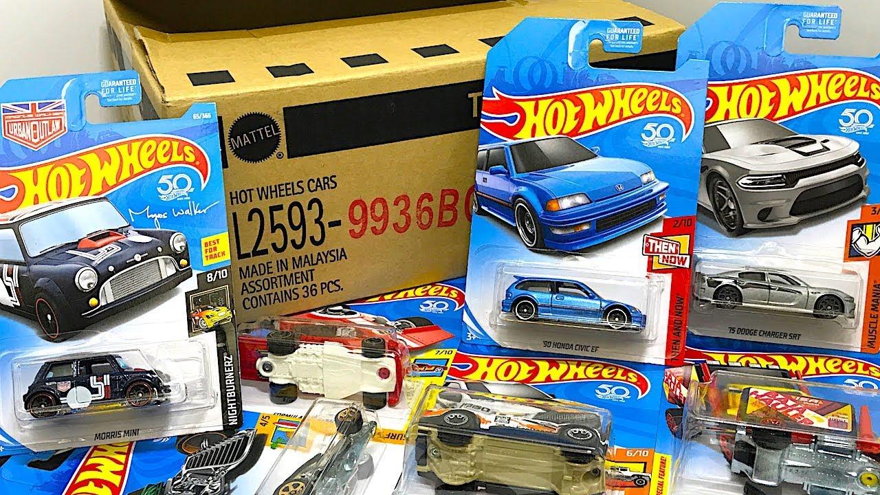 New Hot Wheels Kmart Case Unboxing! - YouTube