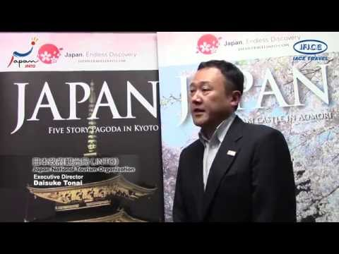 Interview with JNTO - Japan National Tourist Organization