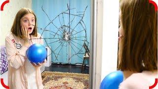 Разбила зеркало мячом Не послушала маму Как все исправить?