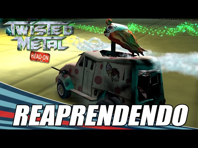 Twisted Metal Head-on || Aprendendo de novo